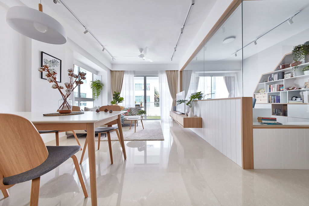 House Tour: Scandinavian-style three-bedroom condominium apartment that's bright and spacious title=