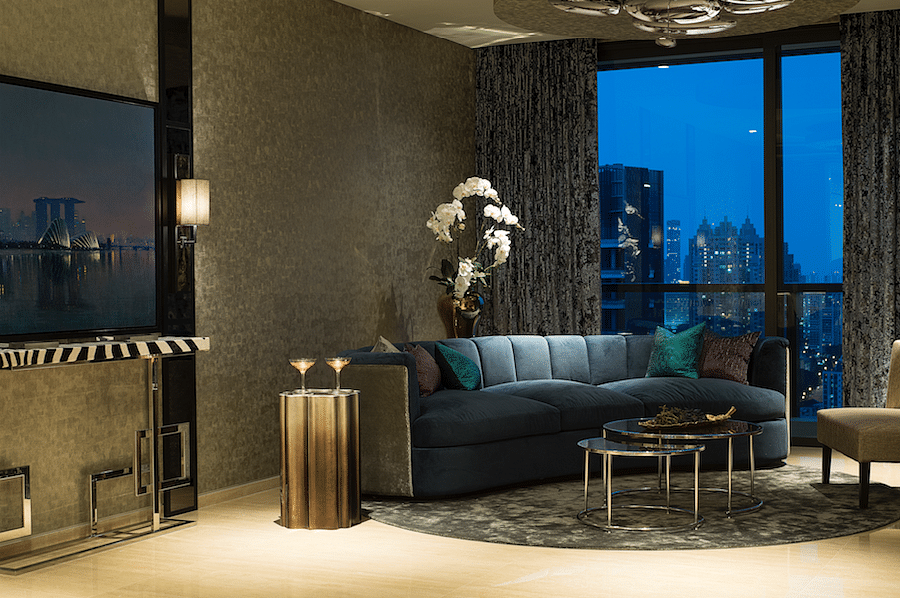 House Tour: Glitz and glamour in a three-bedroom penthouse apartment  title=