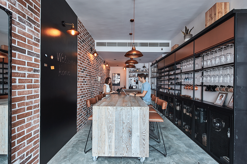 House Tour: A Balestier penthouse designed with authentic industrial-style elements title=