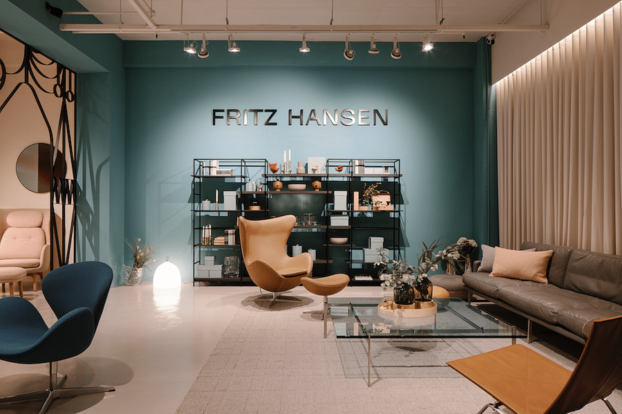 Fritz Hansen Lounge opens in Tan Boon Liat title=