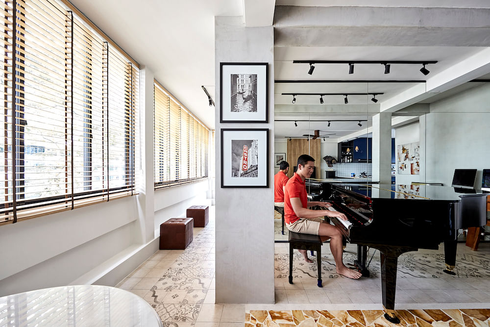 House Tour: A Tiong Bahru flat with patterned tiles and a nostalgic style title=