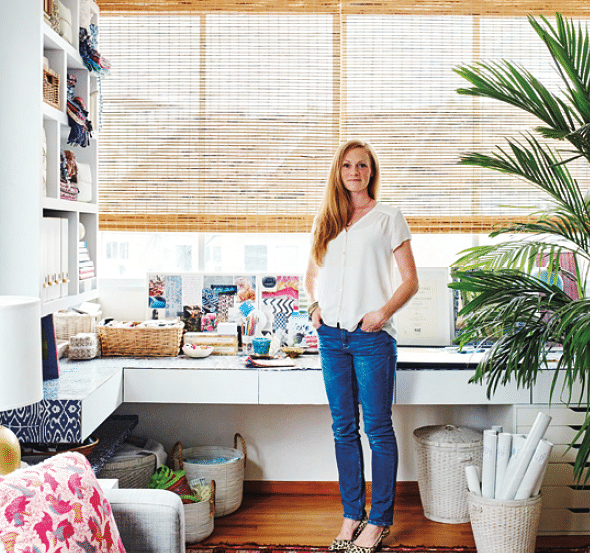 Working from home: see how two owners set up their home offices title=
