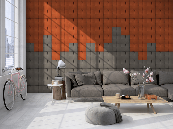 This cork wallcovering is unlike any you've seen before title=