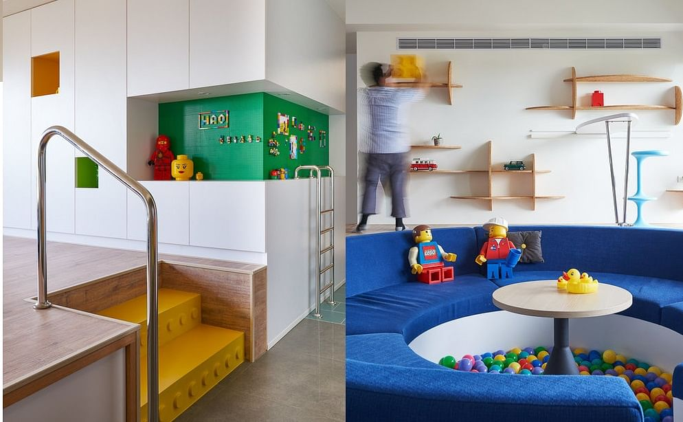 House Tour: A playful, Lego-inspired apartment with its own ball pit! title=