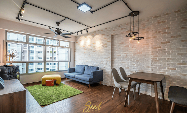 House Tour: $36,000 renovation for this industrial-inspired four-room HDB BTO home title=