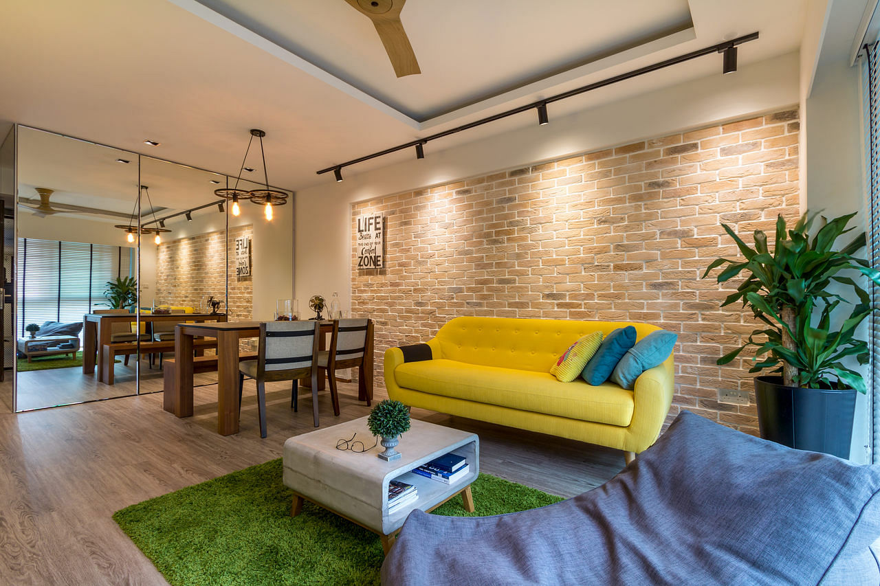 House Tour: A luxurious Scandinavian-industrial-style four-room HDB BTO home title=