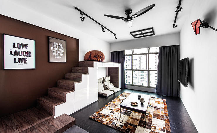 10 HDB and BTO living rooms with less-than-ordinary designs title=