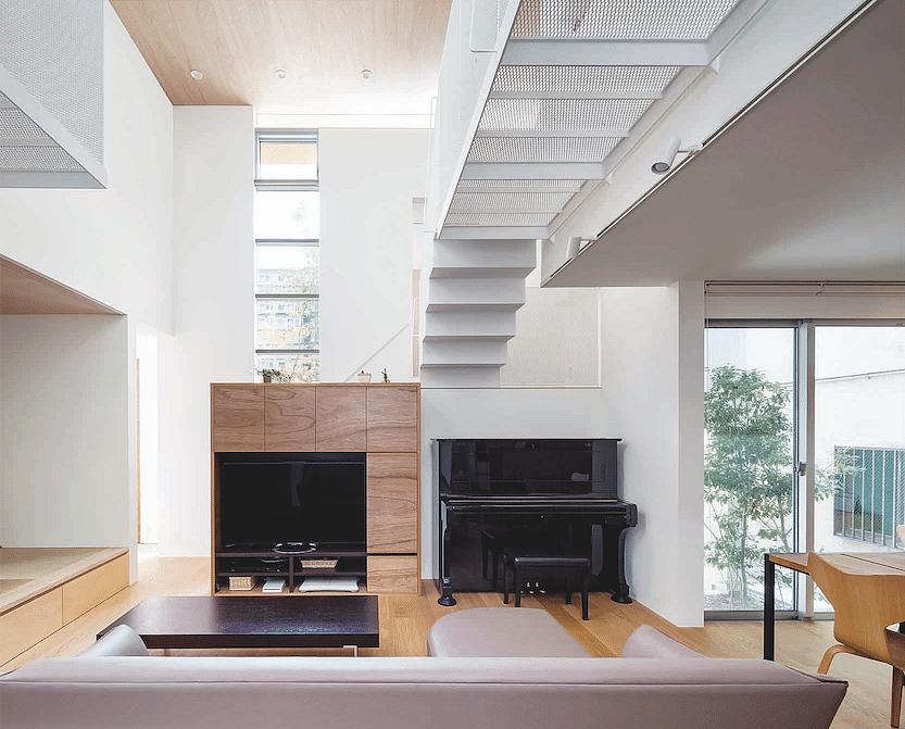 House Tour: A Sleek, Minimalist Japanese House With White And Wood Tones  Titleu003d