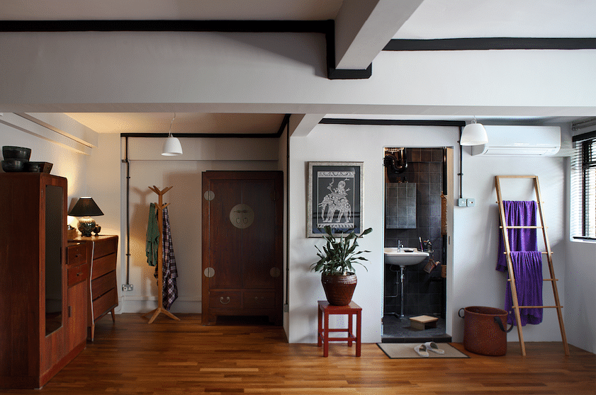 House Tour: An eclectic four-room HDB home with Japanese-inspired features title=