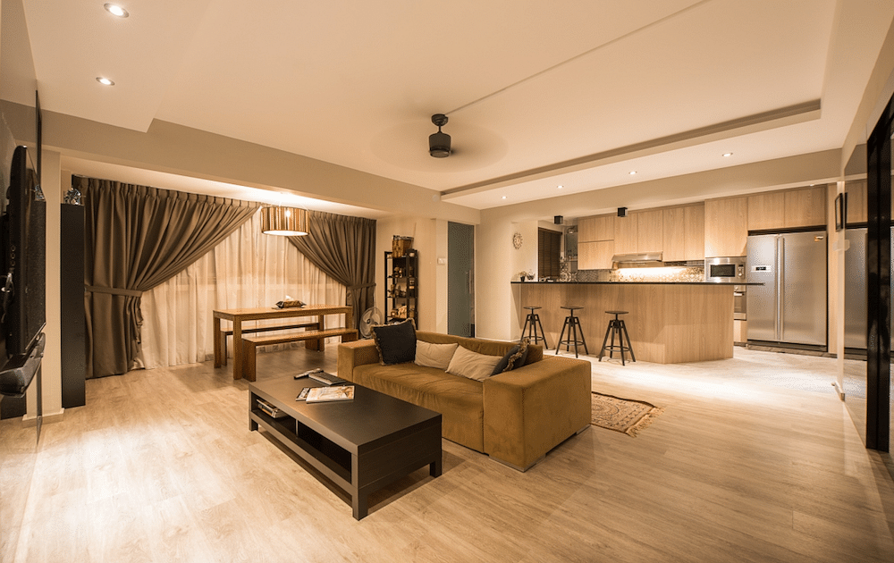 House Tour: Lots of space in this modern contemporary five-room flat in Pasir Ris title=