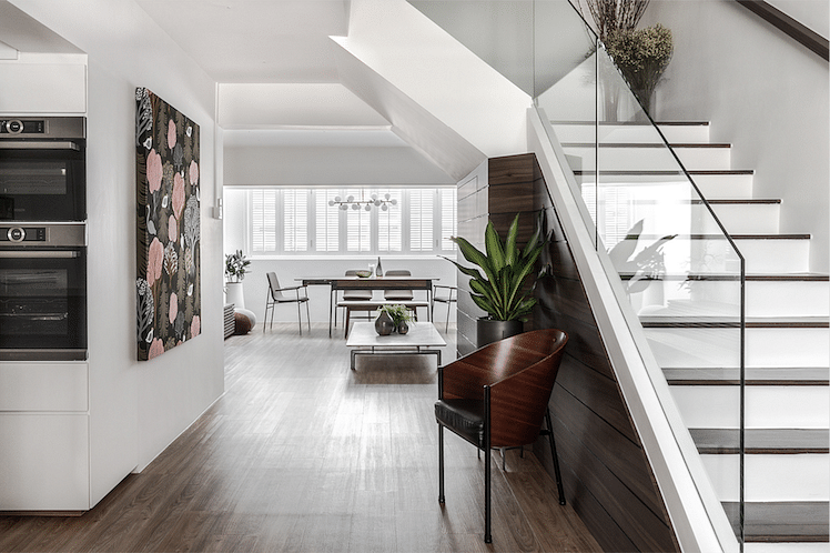 House Tour: $130,000 renovation for this modern contemporary maisonette apartment  title=