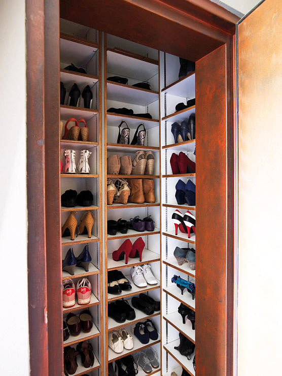 Shoe storage the right way home decor singapore for Hdb household shelter design