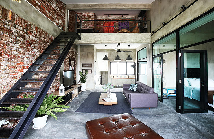 How to create the urban loft look home decor singapore for Urban home decor