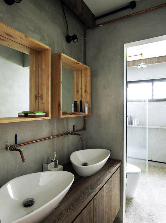 Decorating your interiors with copper home decor singapore - Inspiring bathroom mirror design ideas find perfect one ...