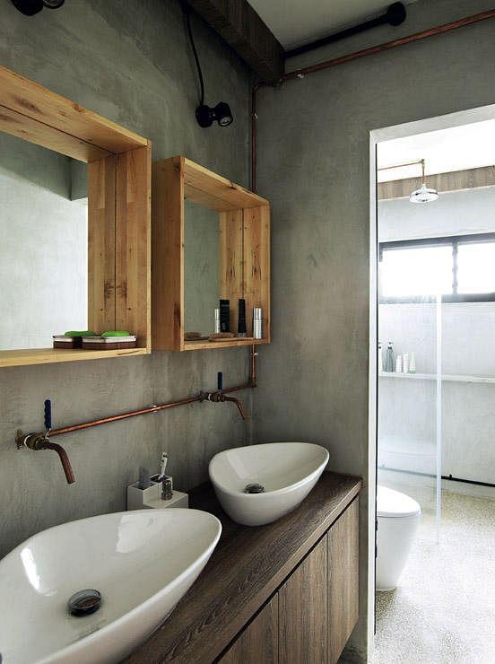 Decorating your interiors with copper home decor singapore for Bathroom ideas singapore