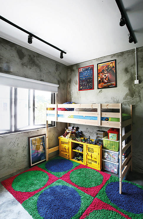 ... concrete screed flooring or walls, here's inspiration for you