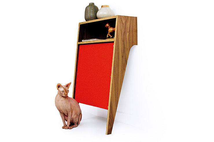 pet friendly furniture. The Compact I Cabinet Can Be Used As A Bed For Your Cat Or Litter Tray From Modernistcatcom Pet Friendly Furniture