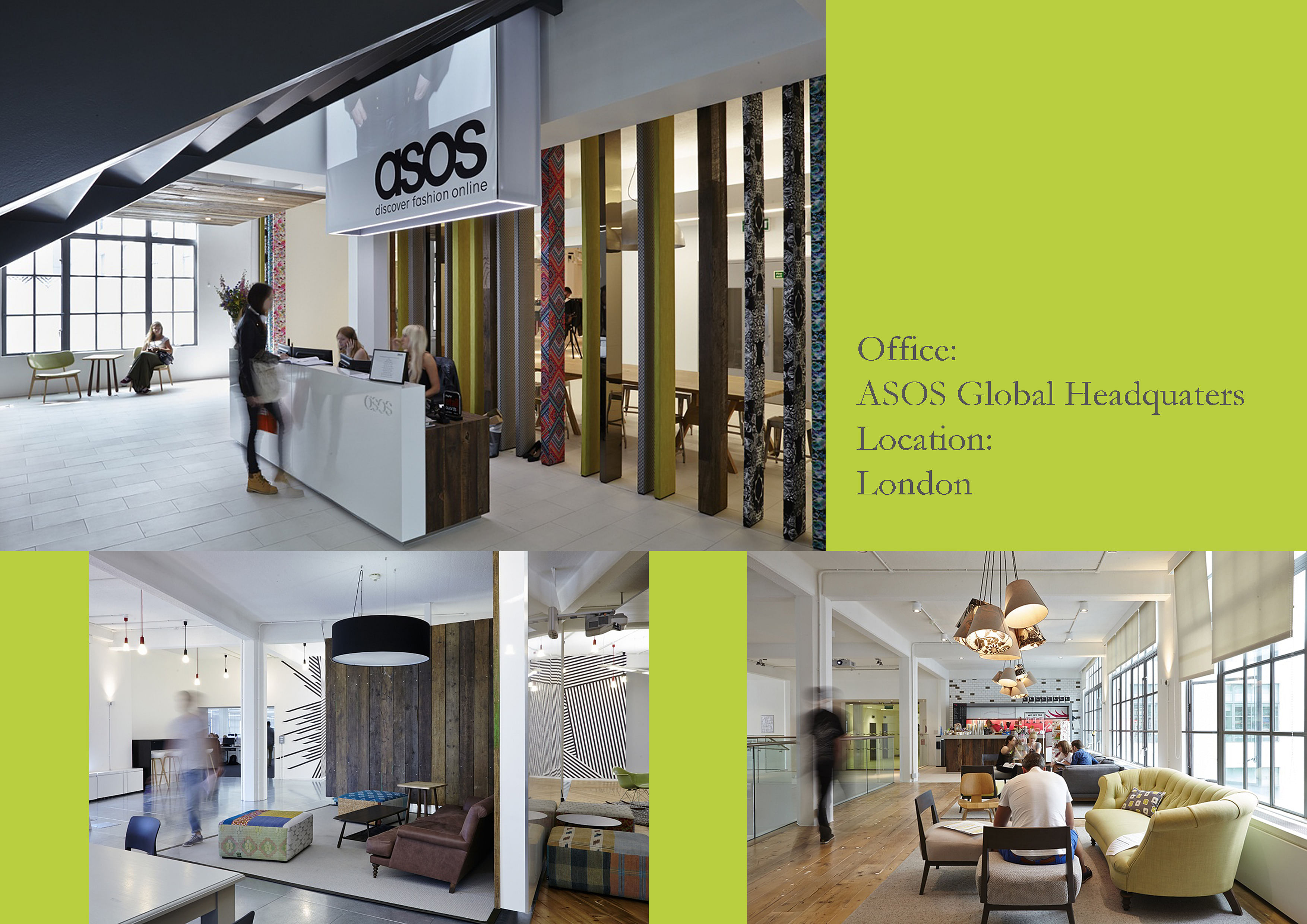 Online Office Designer Design Inspiration ASOS Headquarters Online