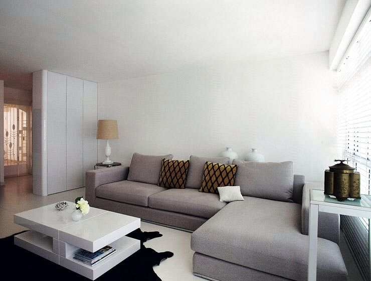 Image Result For Small Linen Sectional Sofa