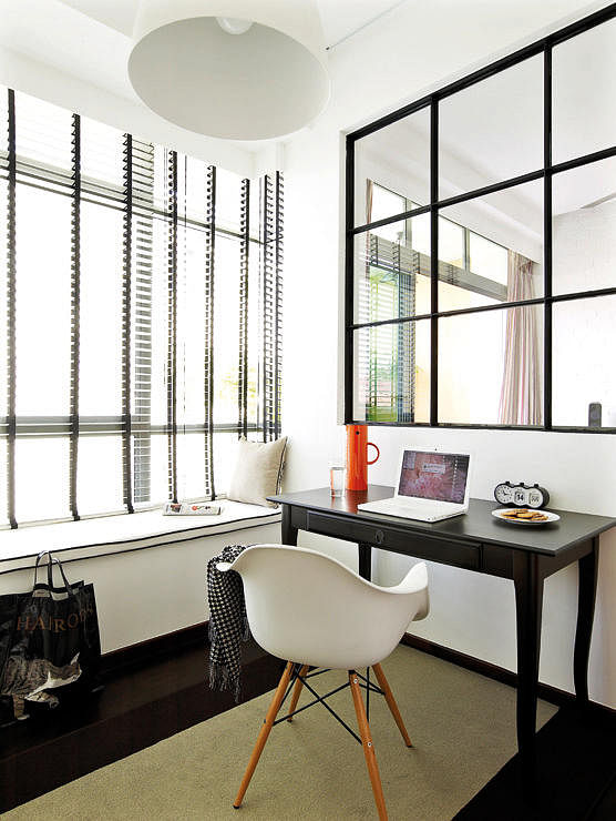 Hdb Study Room Design Ideas: Inspiring Workstations By The Bay Window
