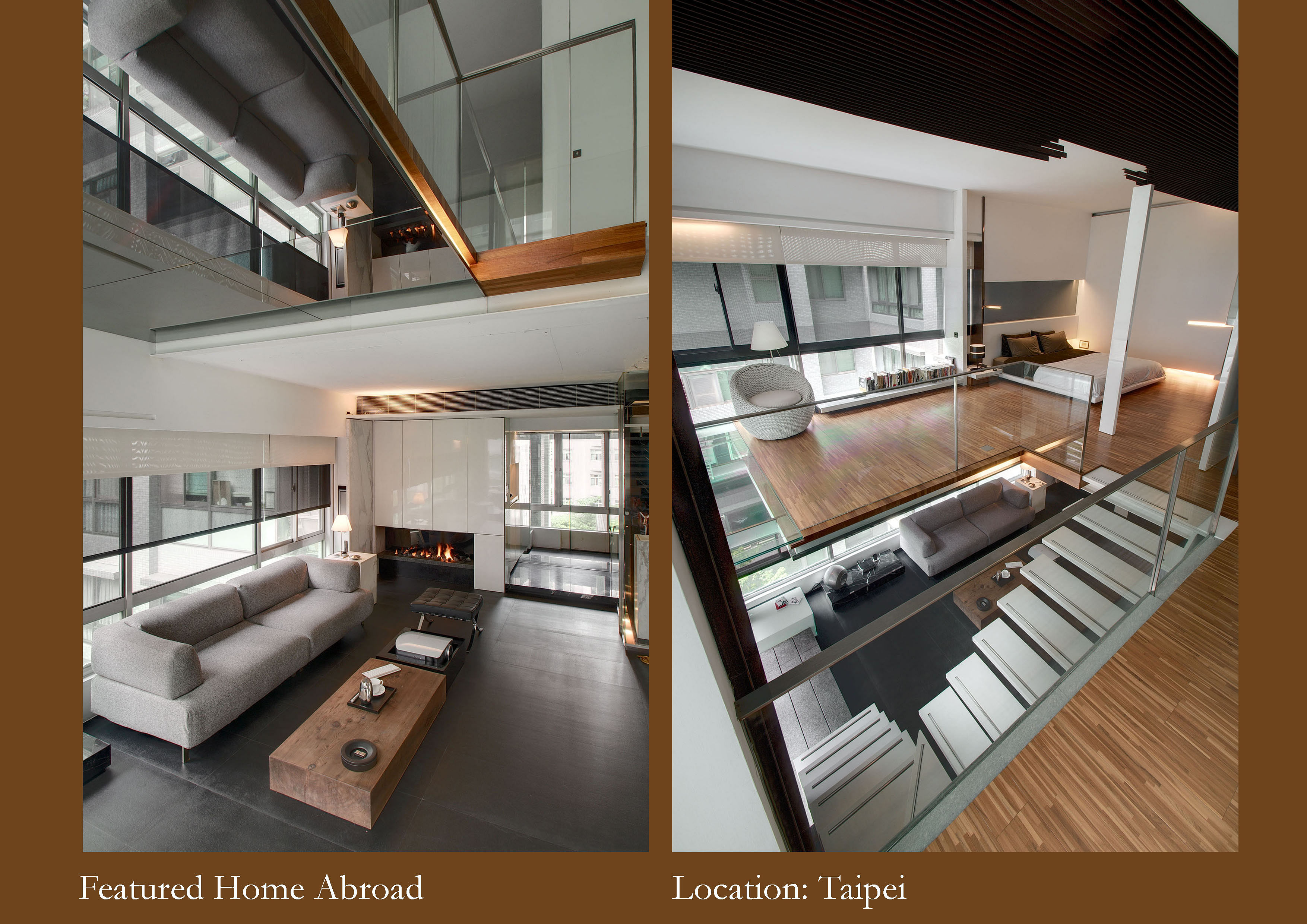 Design inspiration home abroad feature taipei loft for Loft apartment interior design