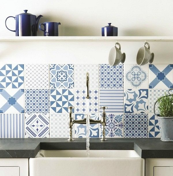 Kitchen Tiles Singapore 10 ways to use graphic tiles as home accents | home & decor singapore
