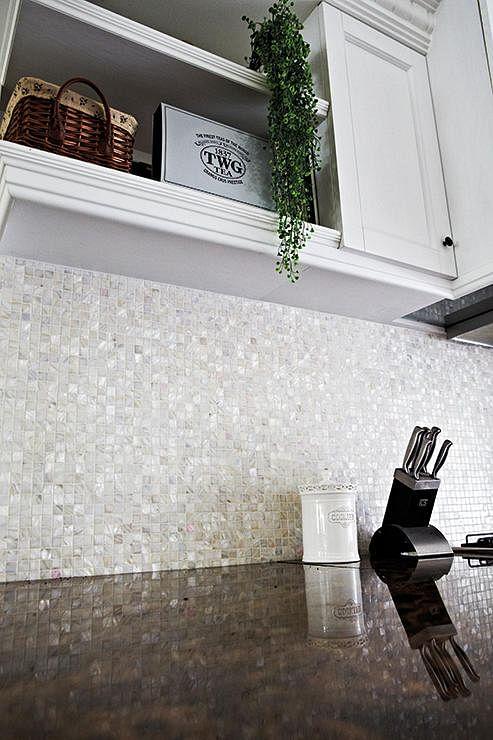 Charmant Easy To Clean Backsplash For Kitchen.