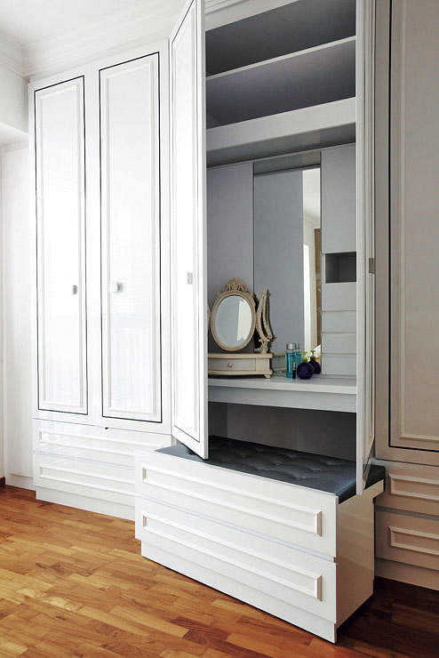 How To Squeeze A Dresser Or Vanity Table Into Your Bedroom Home Amp Decor Singapore