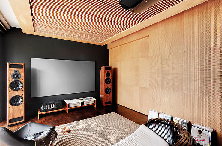 Inside the homes of music lovers home decor singapore for Music room interior design ideas