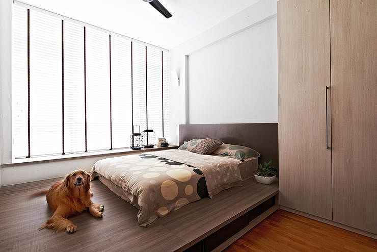 Never thought of having a platform bed here 39 s why you for Bedroom ideas platform bed