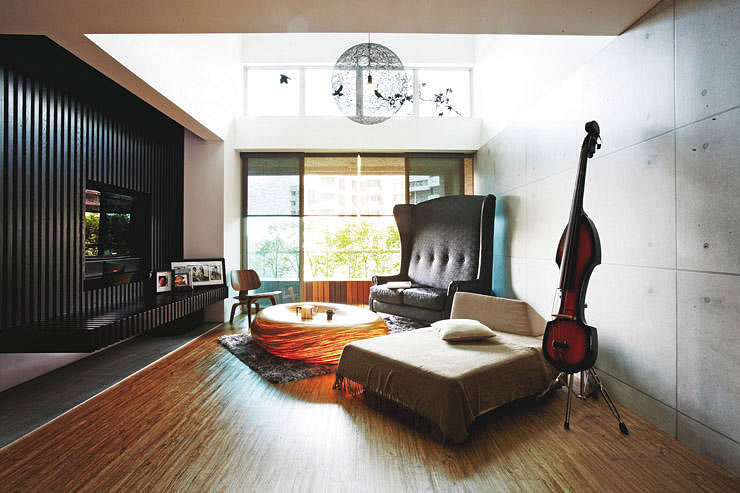 Inside The Homes Of Music Lovers Home Amp Decor Singapore