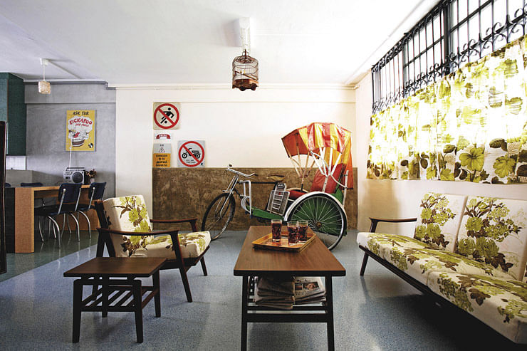 vintage hdb flat nostalgia renovation home and decor - Home Decor Singapore