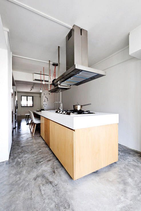 Kitchen Island Hdb Flat hdb flats with beautiful kitchen islands | home & decor singapore