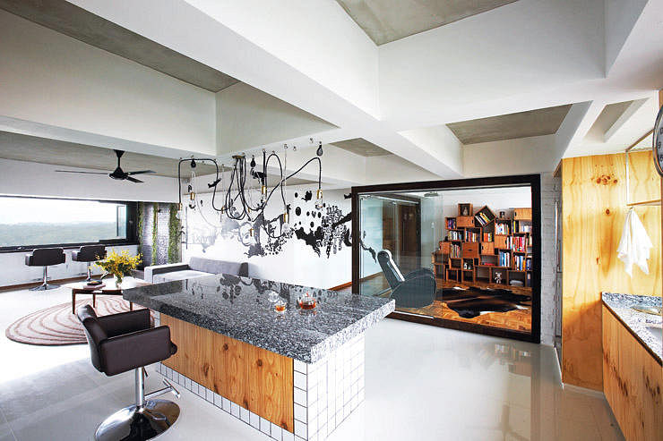 design kitchen island. HDB Flats With Beautiful Kitchen Islands  Home Decor Singapore