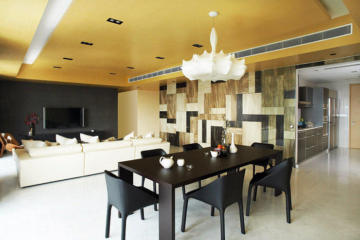 Interior Design By Free Space Intent