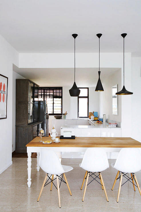 10 Perfect Pairings – Pendant Lamps and Dining Tables ...