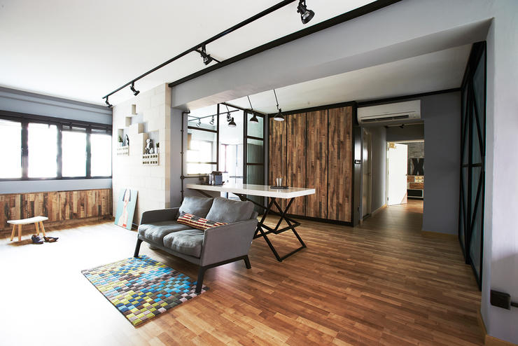 Renovation wood flooring and its alternatives home for Home design ideas singapore