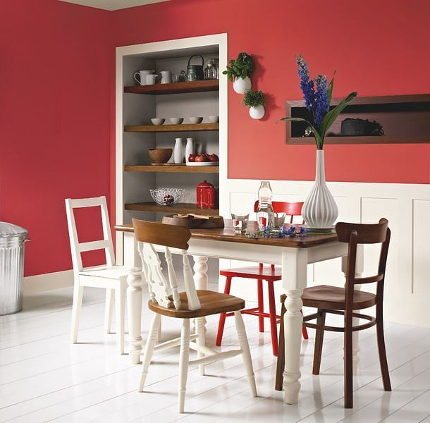 The Best Colours For Your Dining Room