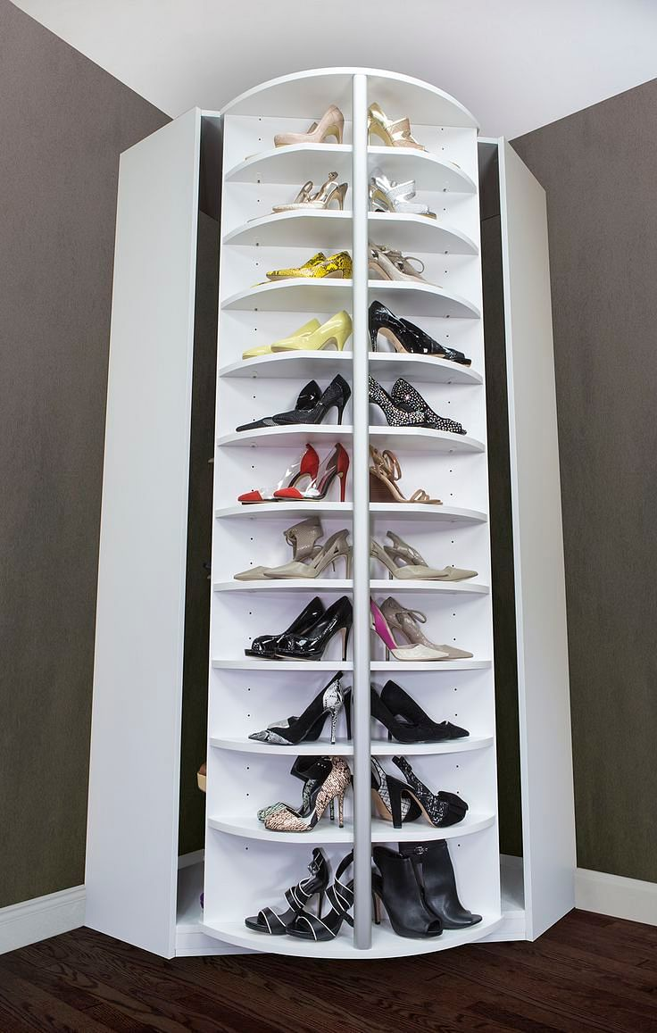 Crazy home features you know you want home decor singapore - Meuble a chaussure tournant ...