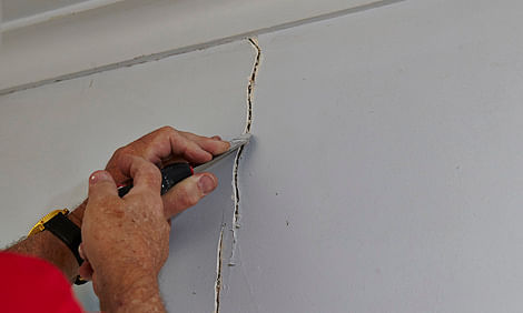 Uneven Drywall Repair