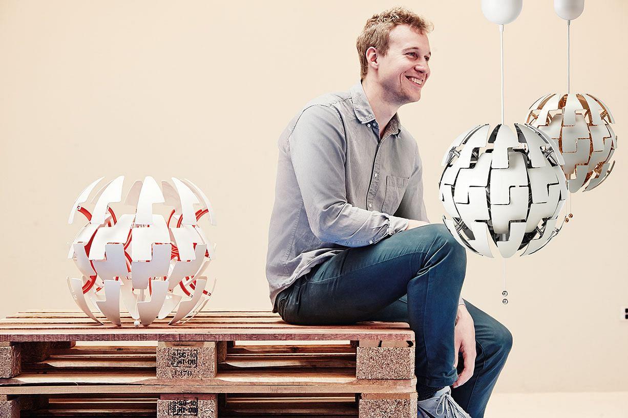 meet the designer behind ikea 39 s star wars pendant lamp. Black Bedroom Furniture Sets. Home Design Ideas