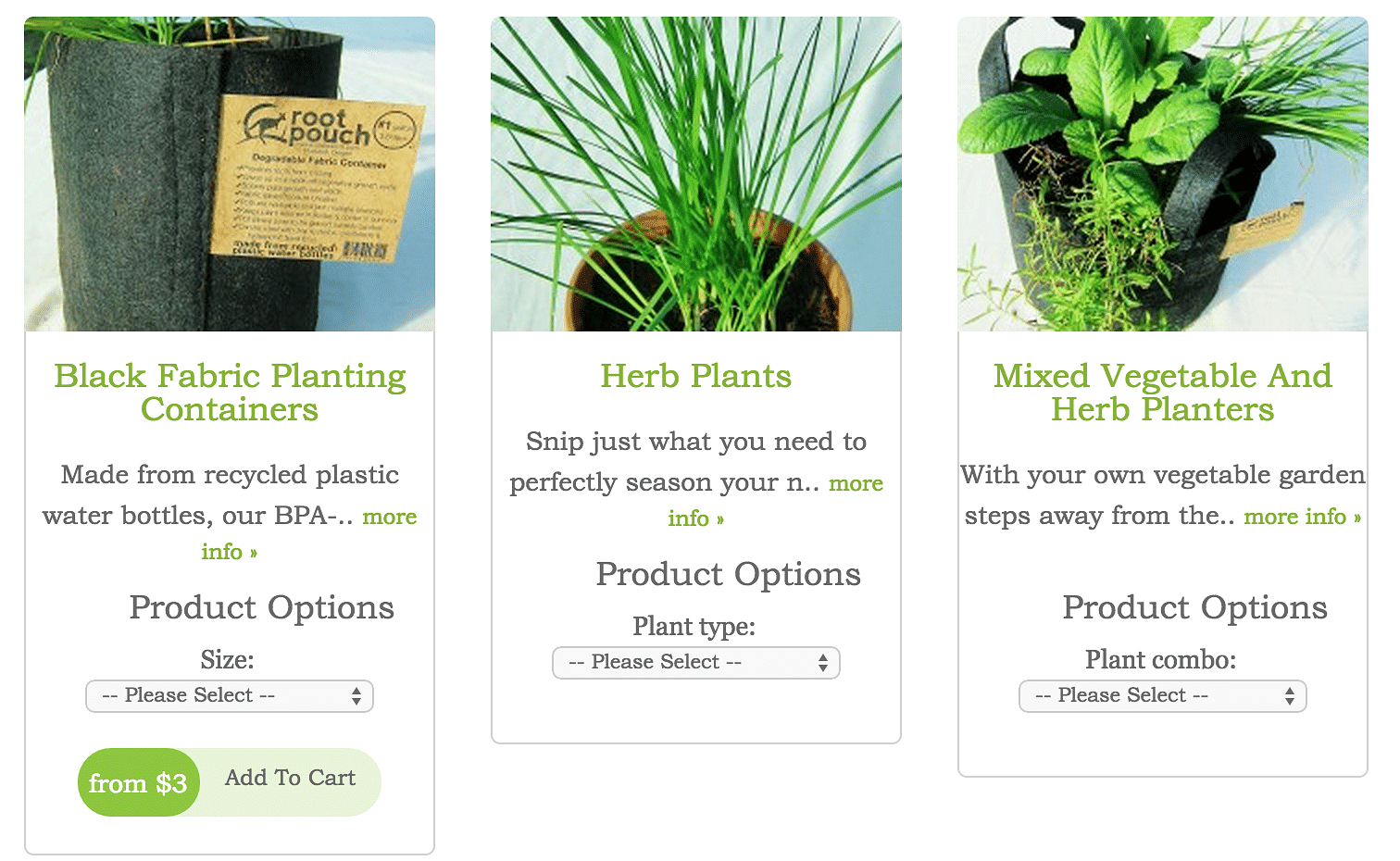 5 great online stores for indoor gardening home decor for Garden accessories online