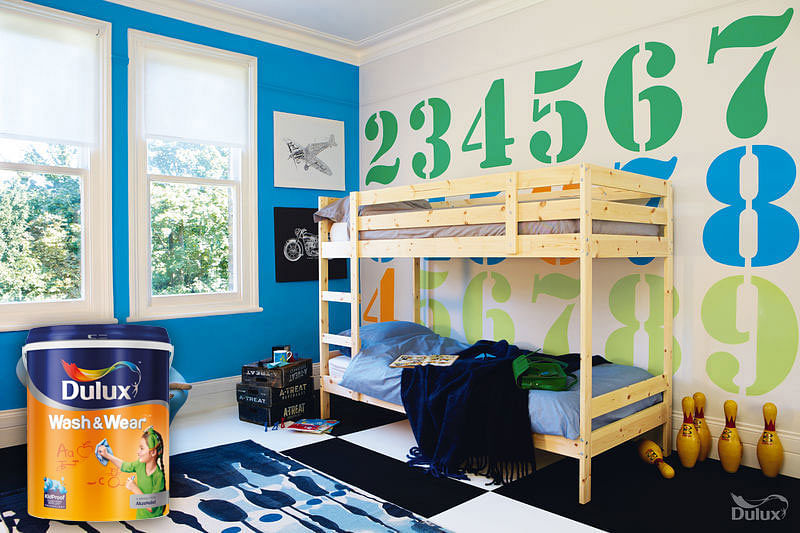 Dulux, Paint, Singapore, Kidproof, Wash And Wear