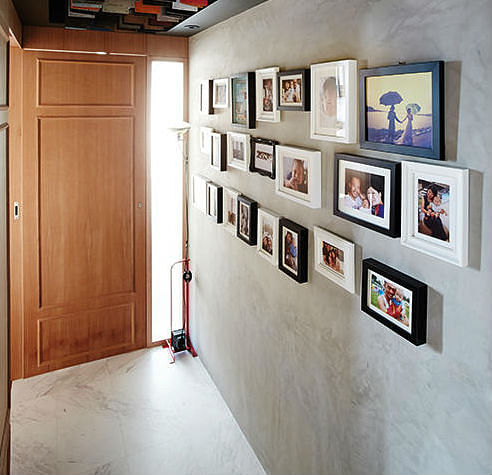 How To Hang Pictures On Your Concrete Wall Home Amp Decor