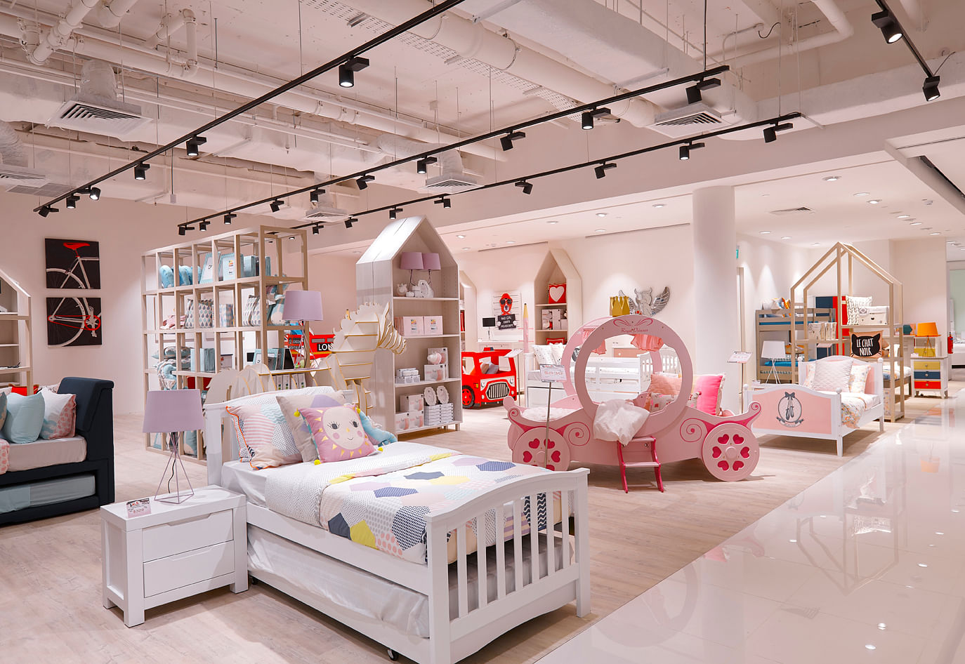 Kids Bedroom Harvey Norman harvey norman's new flagship superstore offers a revolutionary