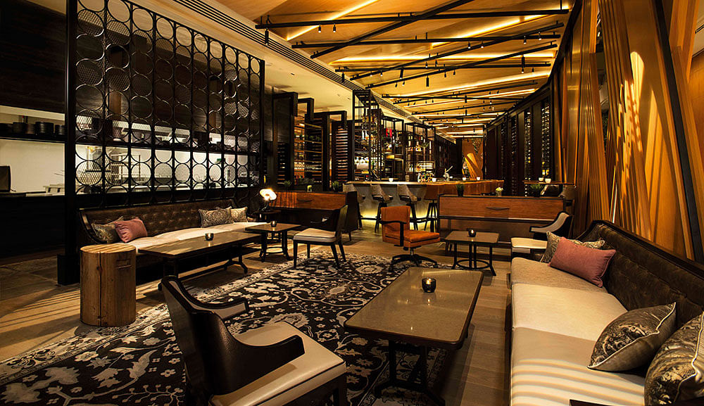 This restaurant in Marina Bay Sands by David Myers is ...