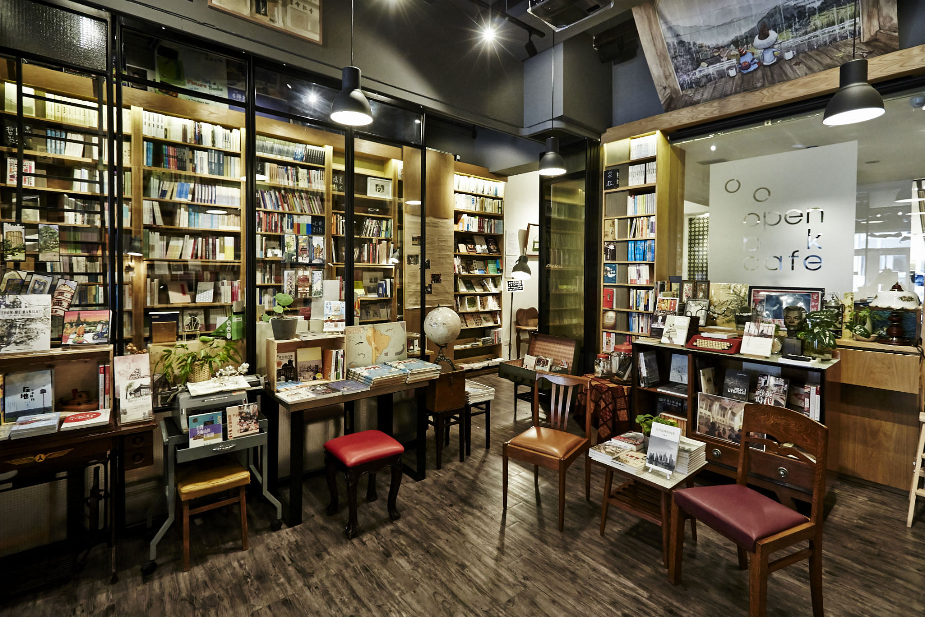 Independent bookstore grassroots book room home decor for Local home decor stores