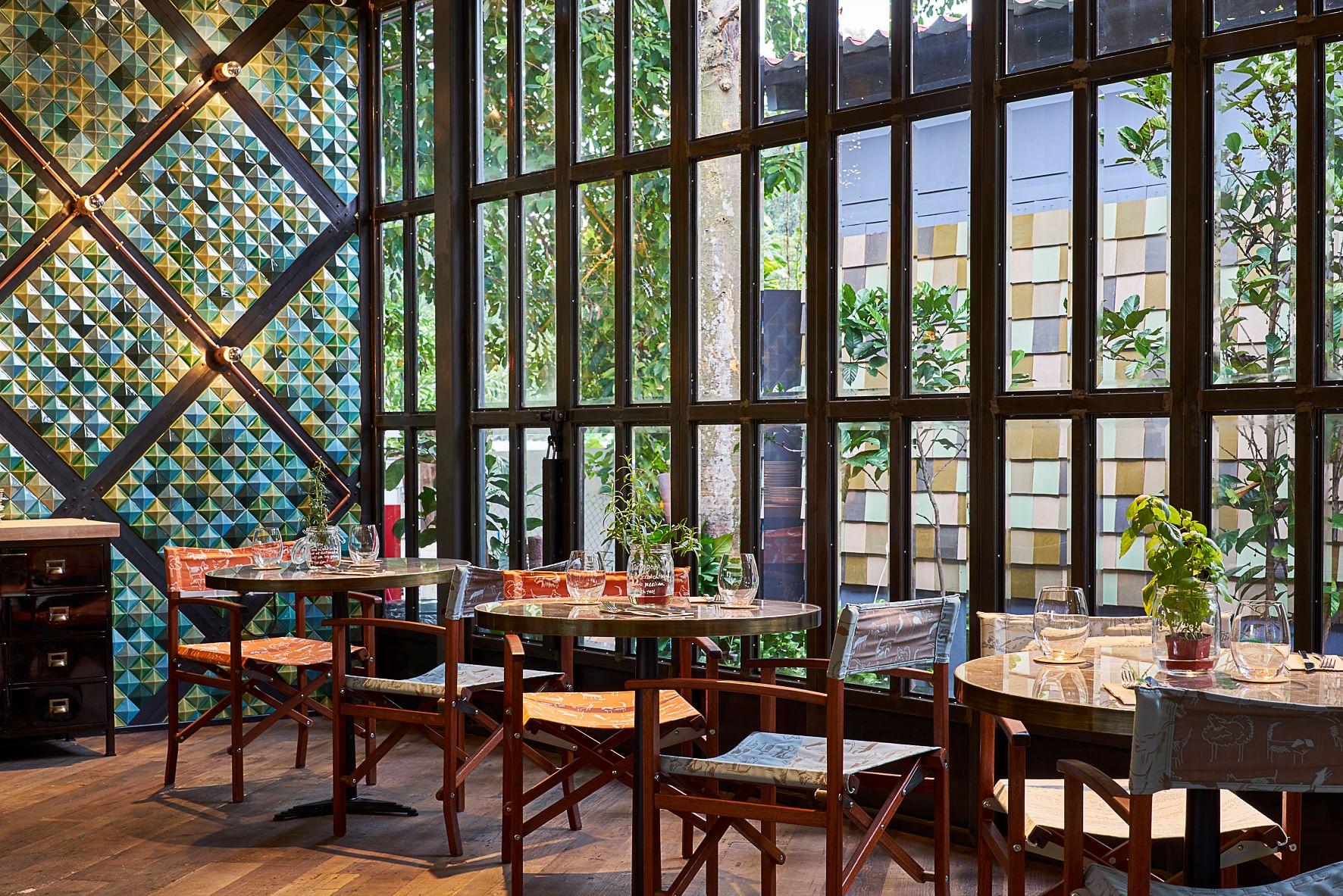 Urban Farming With An Edible Garden And Restaurant At Open