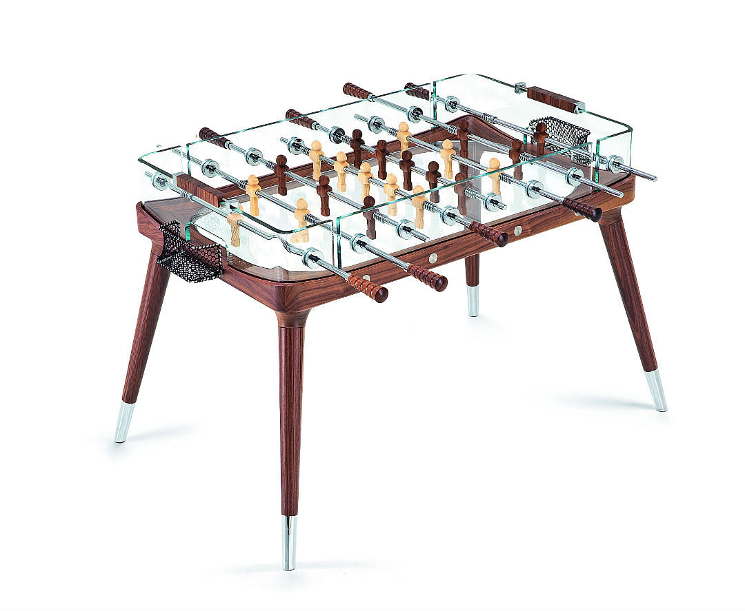 Stylish Game Tables For The Home Think Foosball And Ping Pong - Italian foosball table