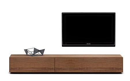 Living room inspiration 3 beautiful wood finished tv for Boconcept meuble tv